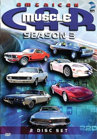Cars - American Muscle Car - Season 3 (2-DVD)