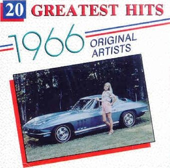 20 Greatest Hits Of 1966 Cd 1991 Deluxe Oldies Com