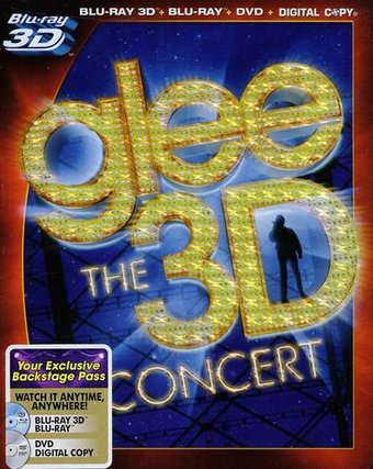 Glee: The 3D Concert Movie (Blu-ray + DVD)