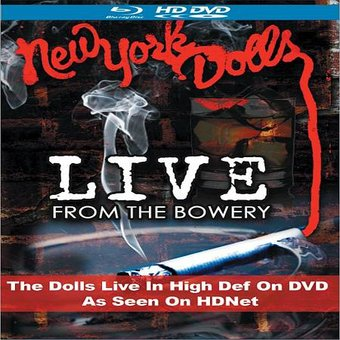 Live from the Bowery (Blu-ray)