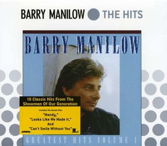 Barry Manilow Greatest Hits Volume 1 Cd 1989 Sbme