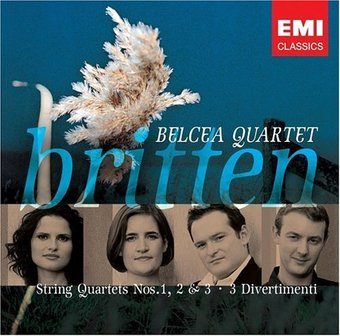 String Quartets No 1 2 & 3 / Three Divertimenti
