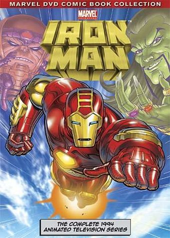 Iron Man: Complete Animated Series (3-DVD)