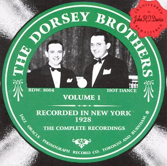 Dorsey Brothers Orchestra, Volume 1: 1928
