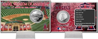 Baseball - Angels - Stadium Silver Coin Card