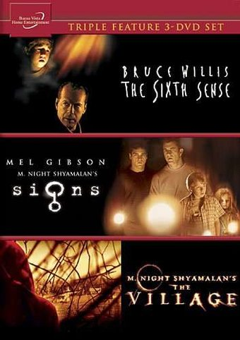 Signs / The Village / The Sixth Sense (3-DVD)