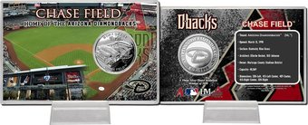 Chase Field Silver Coin Card
