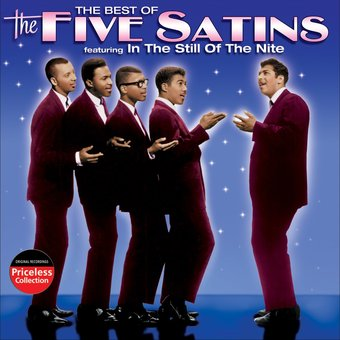 The Best Of The Five Satins Cd 2005 Collectables