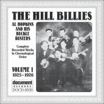 The Hillbillies, Volume 1: 1925-1926