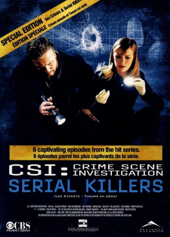 CSI: Serial Killers / Sex Crimes (2-DVD)