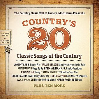 Country S 20 Classic Songs Of The Century Cd 2008 New