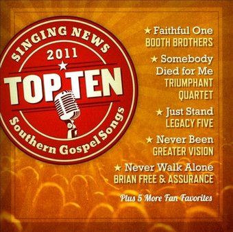 Singing News: Top Ten Southern Gospel Songs of