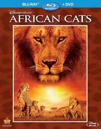 African Cats (Blu-ray + DVD)