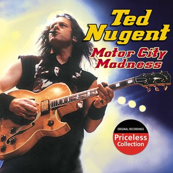 Ted Nugent Motor City Madness Cd 2006 Collectables