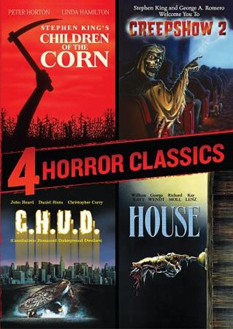 4 Horror Classics (Children of the Corn /