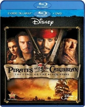Curse of The Black Pearl (Blu-ray + DVD)