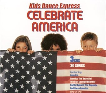 Kid's Dance Express: Celebrate America (3-CD Box