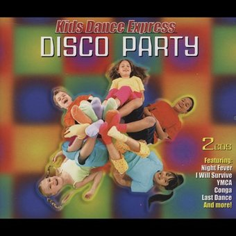 Kid's Dance Express: Disco Party (2-CD)