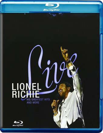 Lionel Richie Live His Greatest Hits And More Blu Ray