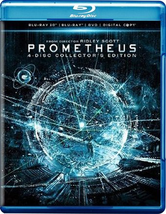 Prometheus 3D (Blu-ray + DVD)