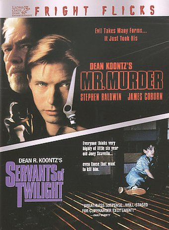 Mr. Murder / Servants of Twilight 2-Pack