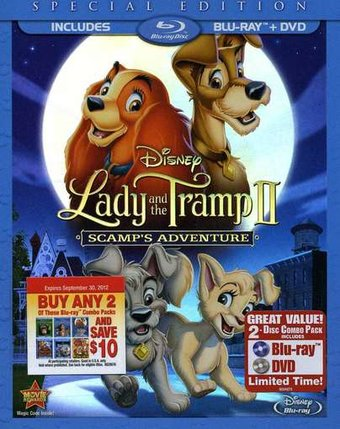 Lady and the Tramp 2: Scamp's Adventure (Blu-ray