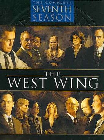 the west wing complete 7th season 6 dvd 2005 television on starring stockard channing. Black Bedroom Furniture Sets. Home Design Ideas