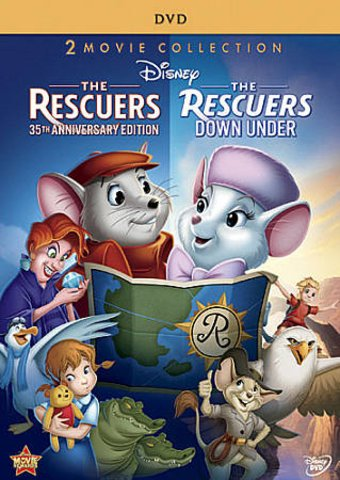 The Rescuers / The Rescuers Down Under (2-DVD)