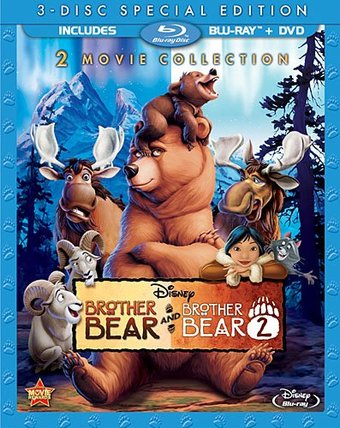Brother Bear / Brother Bear 2 (Blu-ray)