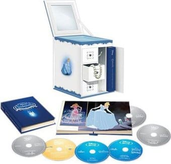 Cinderella Trilogy (Blu-ray + DVD)
