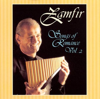 Zamfir Songs Of Romance Volume 2 Cd 1997 Ranwood