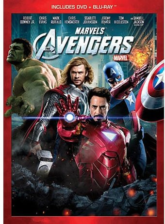 Marvel's The Avengers (Blu-ray + DVD)