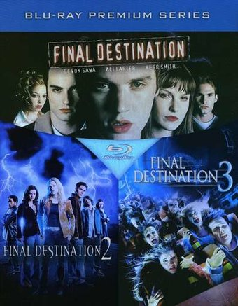 Final Destination, Volume 1-3 (Blu-ray)