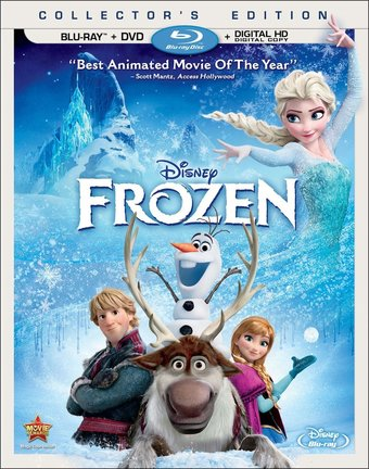 Frozen (Blu-ray + DVD + Digital Copy)