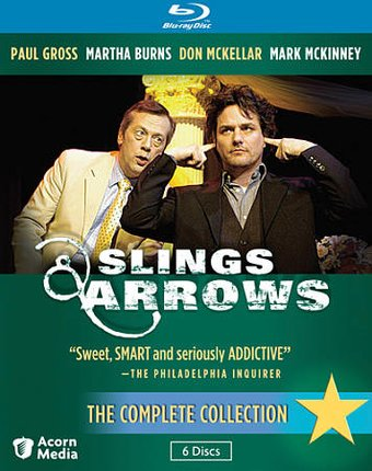 Slings & Arrows - Complete Collection (Blu-ray)
