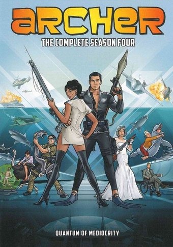 Archer - Complete Season 4 (2-DVD)