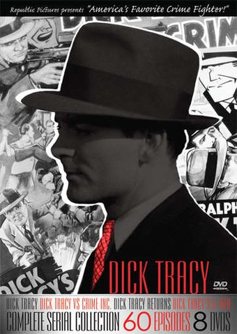 Dick Tracy: Complete Serial Collection (8-DVD)