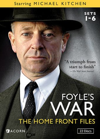 Foyle's War - Sets 1-6: The Home Front Files