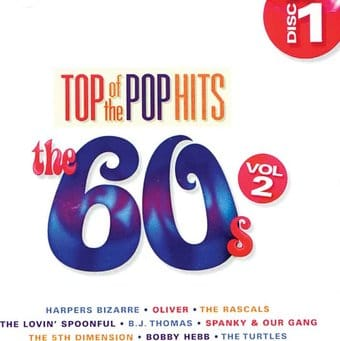 Top Of The Pop Hits The 60s Volume 2 Disc 1 Cd 2013