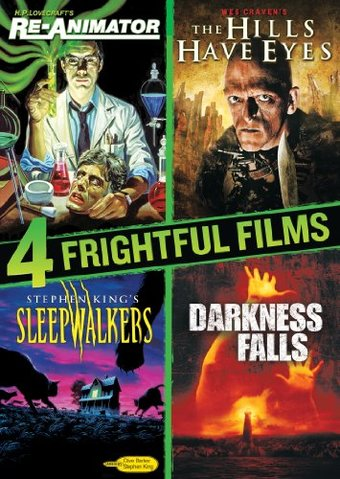 4 Frightful Films: Re-Animator / The Hills Have