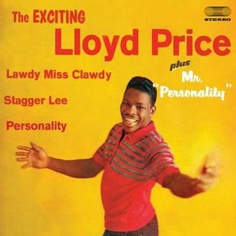 Exciting Lloyd Price / Mr. Personality