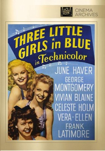 Three Little Girls In Blue