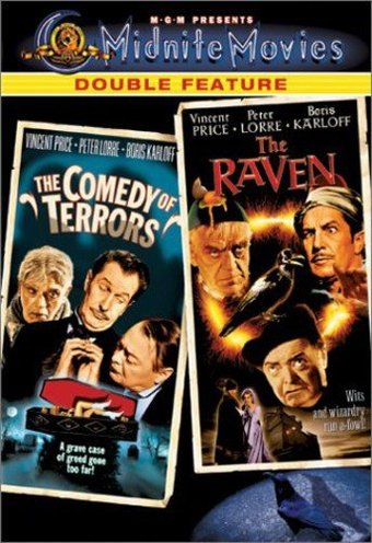 Midnite Movies Double Feature Comedy Of Terrors The