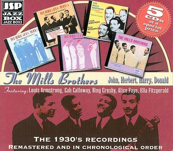 The 1930's Recordings (5-CD Box Set)