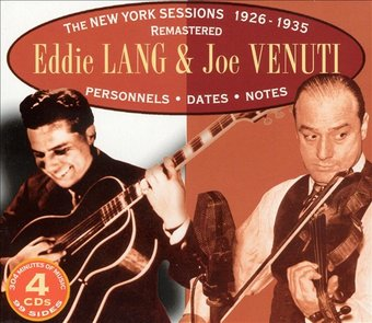 The New York Sessions 1926-1935 (4-CD Box Set)