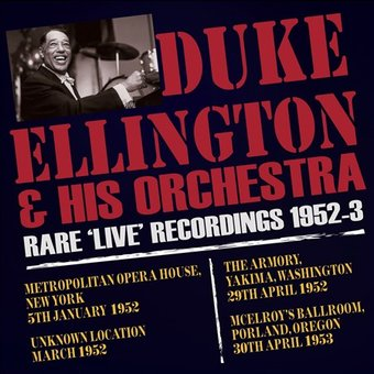 Rare Live Recordings 1952-1953 (3-CD)