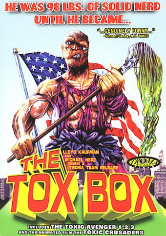 The Tox Box - The Toxic Avenger Box Set (4-DVD)