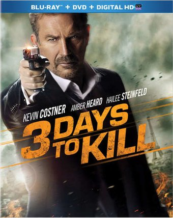 3 Days to Kill (Blu-ray + DVD)