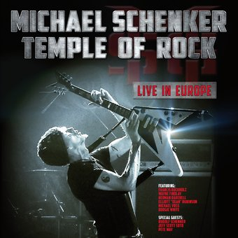 Temple of Rock: Live in Europe (2-CD)