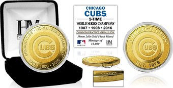 Baseball - MLB - Chicago Cubs 3-time World Series